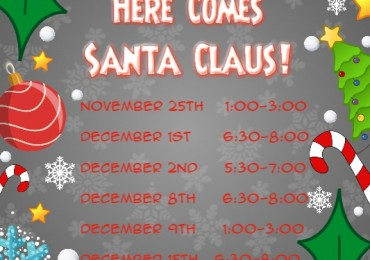 Santa Claus is Coming to Savage Mill!