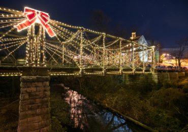 7th Annual Bollman Bridge Lighting & Magic at the Mill