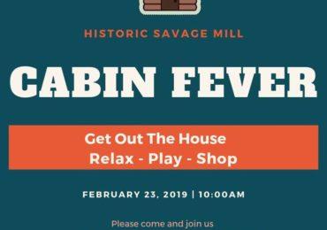 Cabin Fever – This Saturday!