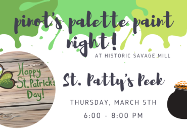 St. Patty's Peek Paint Night!